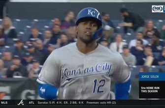 WATCH: Soler, O'Hearn go yard as Royals win opener in NY