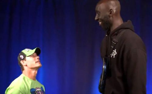 Tacko Fall meets John Cena on WWE SmackDown