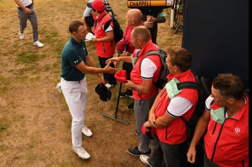 Jordan Spieth a cut above at British Open