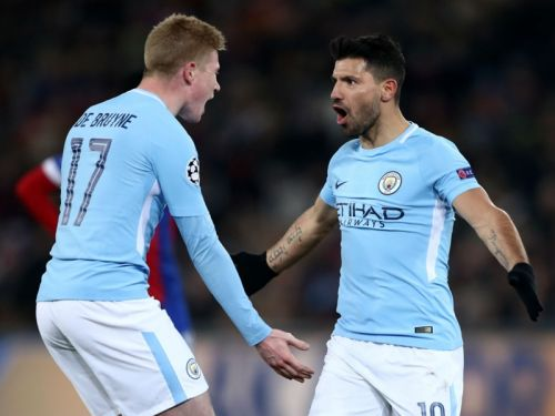 Man City duo Aguero & De Bruyne in contention to feature against Everton