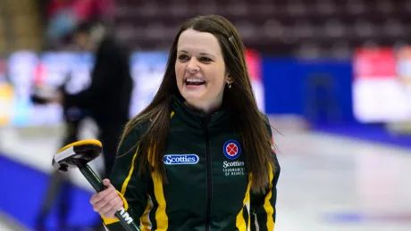 Tracey Fleury keeps rolling to secure semifinal berth in Champions Cup curling