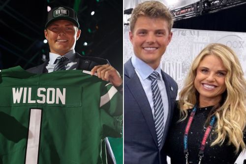 Zach Wilson's mom trends on Twitter after Jets select him in NFL Draft
