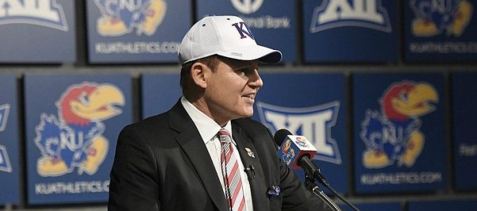 New KU football coach Les Miles wants to finish career with 'championships'