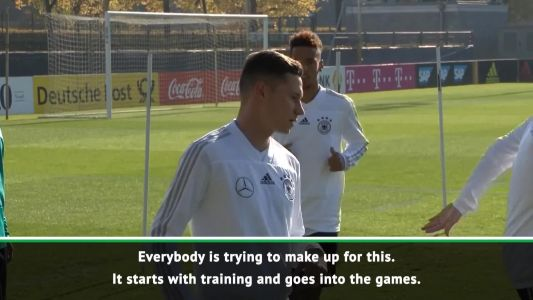 Germany still trying to make up for World Cup disappointment - Draxler