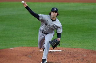 Watch all of Gerrit Cole's 13 punch outs vs. Indians in Yankees' Game 1 win