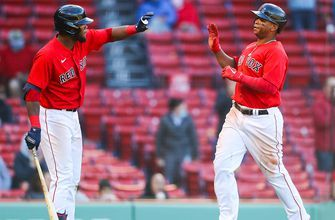 Red Sox come from behind to defeat the Tigers, 12-9