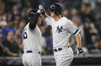 Yankees beat Angels 9-1, claim 1st AL East title since 2012