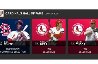White, Tudor among 3 elected into Cardinals Hall of Fame