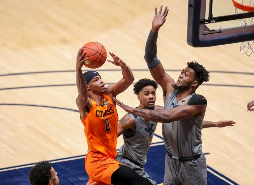 No. 17 Oklahoma State stuns No. 5 West Virginia without Cade Cunningham, Isaac Likekele