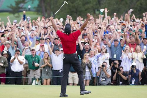 Tiger Woods brings Serena Williams to tears with Masters win