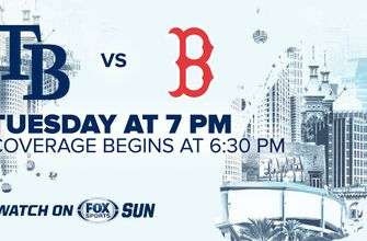 Preview: Rays turn to Yonny Chirinos, try to bounce back against visiting Red Sox