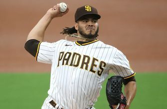 Dinelson Lamet shuts down Dodgers, inches Padres closer in NL West race