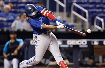 Vladimir Guerrero Jr. goes 2-for-4, drives in a run as Blue Jays top Marlins, 2-1