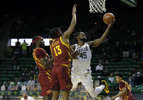 No. 2 Baylor survives upset bid by Iowa State in men's basketball after long COVID-19 shutdown