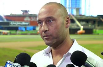 Miami Marlins CEO Derek Jeter press conference part 1: On getting to know young players, trading J.T. Realmuto
