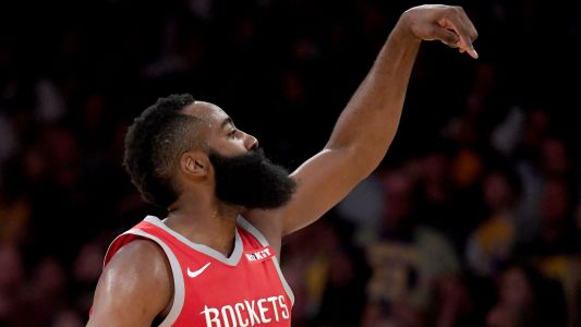 James Harden scores 57 against Grizzlies, sets NBA record for most consecutive 30-point games
