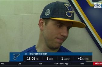 Brayden Schenn says Blues' win over Panthers is 'huge for our team'