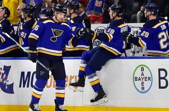 Parayko after Blues' shootout loss: 'Can't let yourself get down on one game'