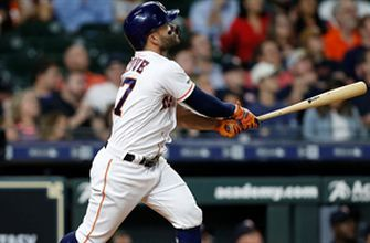 Altuve busts game open with 9th home run of the year