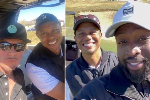 Tiger Woods was on course with Dwyane Wade, David Spade day before accident