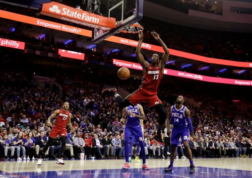 76ers overcame Joel Embiid's absence to beat Heat 106-102