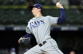Blake Snell strikes out nine Dodgers through 5 1/3 easy innings of work in Game 6