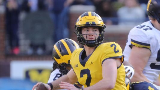 Michigan football's Shea Patterson didn't 'put his feet up' this spring - he got better