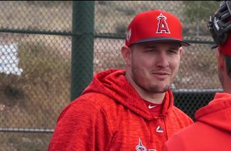 Angels Spring Training Report: Mike Trout, I'm always excited to start Spring Training