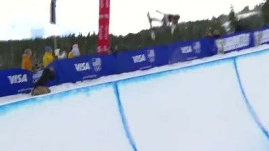 Olympic champion Kim dominates the halfpipe at Copper Mountain