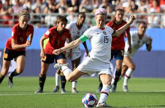 2019 FIFA Women's World Cup™: United States' Megan Rapinoe buries 2nd penalty for a 2-1 win vs. Spain | HIGHLIGHTS