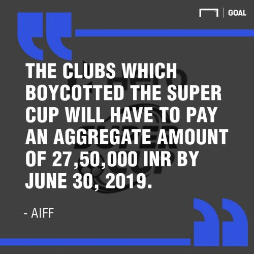 Super Cup boycott: Why AIFF imposed hefty fines on I-League clubs