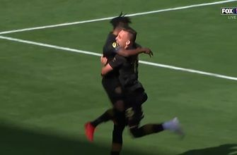 Corey Baird scores in LAFC debut to give his squad a 1-0 lead over Austin FC