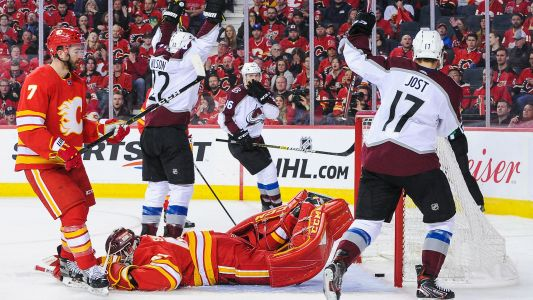 NHL playoffs 2019: Avalanche extinguish Western Conference-best Flames, make history