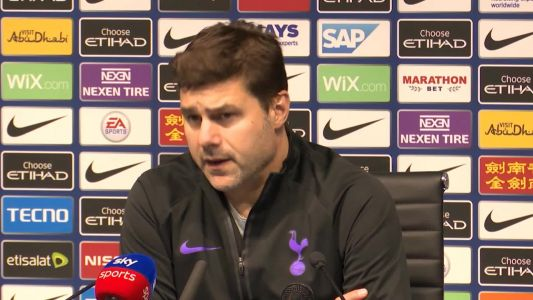 Man City and Tottenham 'weren't in the best place mentally' - Pochettino