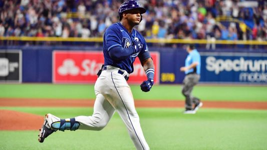 Rays' Wander Franco hit game-tying homer in first MLB game, and Twitter loved it