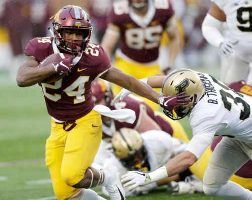 Gophers flip the script in 41-10 rout of Purdue