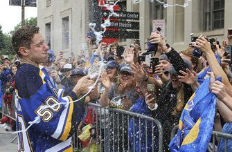 Blues celebrate their first Stanley Cup with a parade for the ages