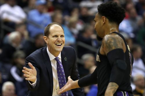 Huskies coach is 'crazy' - but upset of UNC might not be