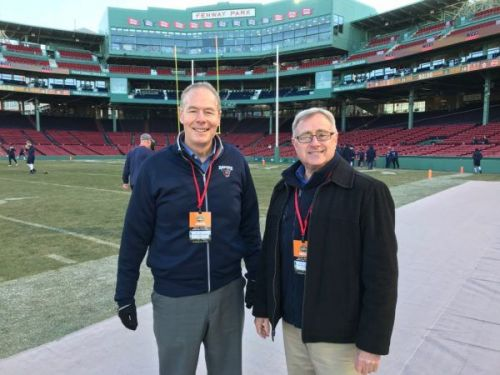 What makes this year's UMaine football team special, according to longtime broadcast partners