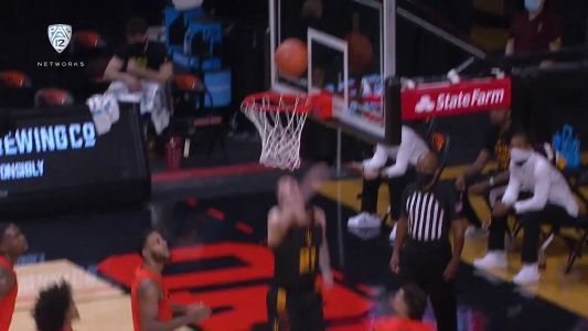 Recap: Warith Alatishe's slam with four seconds to go wins it for Oregon State men's basketball