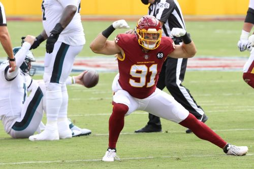 Washington Football Team all-time sacks leader Ryan Kerrigan signs with rival Eagles