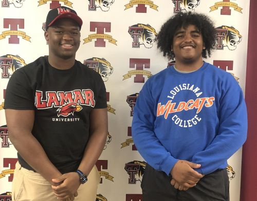 Terrebonne football players sign with colleges