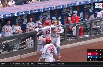 WATCH: Goldschmidt, DeJong go deep in Cardinals' win over Mets