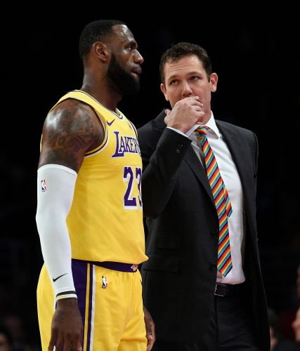 LeBron James has no clue how to address Los Angeles Lakers coach Luke Walton