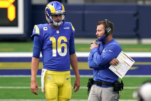 Two Sean McVay words that raise doubt about Jared Goff's Rams future