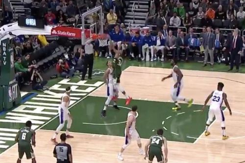 Watch: Giannis Antetokounmpo, Ben Simmons exchange poster dunks