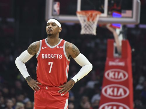 Carmelo Anthony 'shocked' by short length of Rockets teammate Chris Paul's suspension