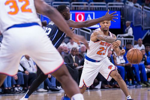 Kevin Knox disappoints as Knicks' losing streak hits five
