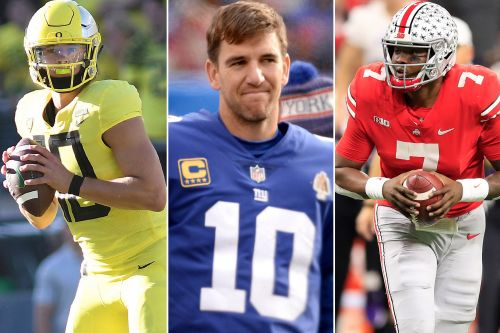 Why this college-QB talent pool is a scary prospect for Giants