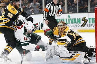 Wild can't solve Rask in 4-0 loss to Bruins